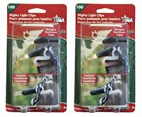 Adams Christmas Mighty Light Clips (200 Pack)