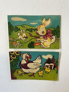 Vintage Animal Squeaker Postcard