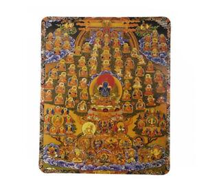 Tapis de souris mandala Bouddha guru assembly tree en promo Promotion  2401