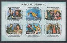 Mozambique Michael Jackson Freddie Mercury Rolling Stones Postage Stamps (S816)