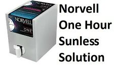 1 One Hour Airbrush Spray Tan / Super Sunless Dark Tanning Solution 34oz Norvell
