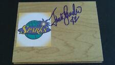 Jantel Lavender Los Angeles Sparks Wnba signed Basketball Floor Tile Free Ship