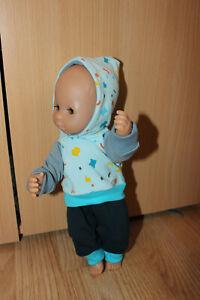 Puppenkleidung für 28 cm Puppen, Motiv Konfetti