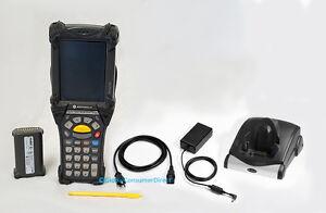 Motorola MC9090K MC9090-KK0HCAFA6WR 1D/2D Wifi 28-Key Barcode Scanner + Culla
