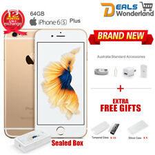 New Sealed Box Apple iPhone 6S Plus 64GB Mobile Phone Amber Gold  Unlocked