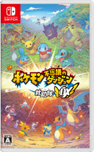 Pokemon Mystery Dungeon Rescue Team DX Nintendo Switch Jp/Eng/Other Tracking NEW