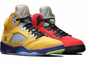 "Nike Air Jordan 5 Retro SE ""What The"" Multicolor CZ5725-700 Men's"