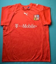 4.8/5 Czech Republic 2006~2008 Original Football Home Shirt Jersey Soccer Puma