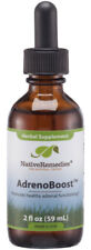 Native Remedies AdrenoBoost - All Natural Herbal Supplement Promotes Healthy