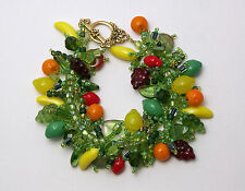 "Bracelet Bead Kit ""Carmen Miranda "" A fruit salad bracelet!  Fringe Magic NEW"