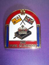 ORANGE ORDER BATTLE OF THE BOYNE CELEBRATIONS BADGE 2004 BN IN PACK