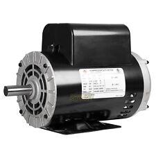 5 Hp Compressor Duty Electric Motor 230v 1 Phase 56hz Frame 78 Shaft 3450 Rpm