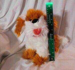 "Sesame Street Collectors: 11"" Barkley Dog Plush Pet Place 2019 Orange White Cute"