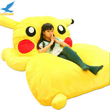 Pikachu Bed Carpet Tatami Mattress Large Single Bed Filled Sofa Bean Bag Gifts A
