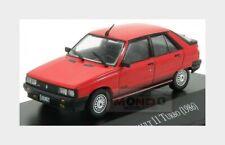 Renault R11 Turbo 1986 Red Black EDICOLA 1:43 AUTOSINOLANCOLL011