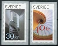 Sweden Architecture Stamps 2020 MNH Staircase Staircases Art Design 2v S/A Set