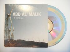 ABD AL MALIK : GIBRALTAR ♦ CD SINGLE PORT GRATUIT ♦