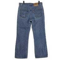 Levi's VINTAGE USA Orange Tab 517 Jeans Mens 36 x 29 Medium Blue Denim BootCut