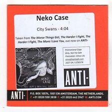 (FY521) Neko Case, City Swans - 2014 DJ CD