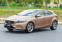 1/18 Scale Volvo V40 T4 Hatchback Copper Diecast Car Model Toy Collection Gift