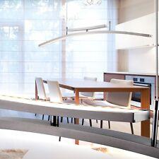 Design 28,8 Watt LED Hänge Nickel Acryl Leuchte Treppenhaus Up Down Lampe Dimmer