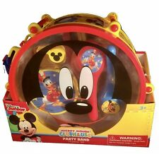 Disney Mickey Mouse Clubhouse Mickey's Party Band 10 Piece Set Music Instruments