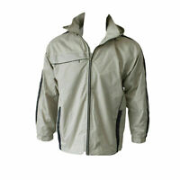 Mens Light Casual Outdoor Sports Windcheater Zip Up Hooded Jacket Hoodie S-2XL