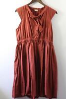 GORMAN SILK COTTON BLEND DRESS Size 14