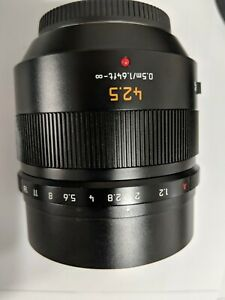 Panasonic LEICA DG NOCTICRON 42.5mm F/1.2 ASPH. POWER O.I.S. -- Near Mint