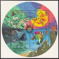 GB 2001 sg ms2201 The Weather - Barometer - Miniature Sheet MNH
