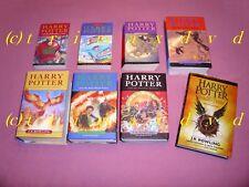 Harry Potter 1-7 & Harry Potter And The Cursed Child _ englische Ausgaben