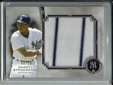 Darryl Strawberry 2013 Topps Museum Collection Game Used Jersey #02/10