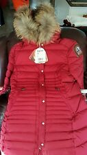 PARAJUMPERS SOLB WOMEN'S DOWN COAT JACKET, 100% GENUINE, RED, L