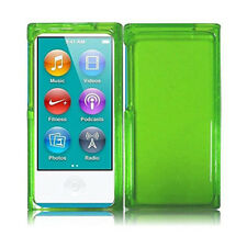 Honey Protective Soft Case Cover - Neon Green For iPod Nano 7th Gen
