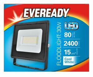 Eveready LED 30W Security Light 4000K IP65 Outdoor Floodlight 2400 Lumens Lamp