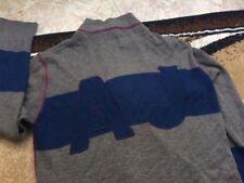 Armani Jeans zip sweater jumper XXL big logo