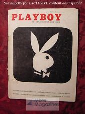 PLAYBOY April 1956 RUSTY FISHER DIANA DORS ROALD DAHL LEROY NEIMAN JEAN BELLUS