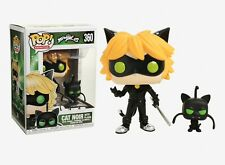 Funko Pop Animation: Zag Heroes Miraculous - Cat Noir with Plagg Vinyl Figure
