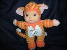 "Goldberger Baby First Orange Cat 11"" Stuffed Talking Sing & Learn ABC 123 Unisex"