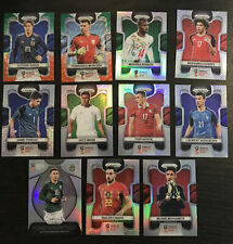 2018 Panini Prizm World Cup Refractor Silver Wave Mojo Lot 11