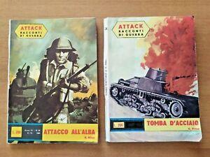 2 ATTACK - RACCONTI DI GUERRA N. 39 e 45 del 1964 - IPEM
