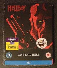 HELLBOY Blu-Ray SteelBook Zavvi UK Limited Edition. Region Free. New OOP & Rare!