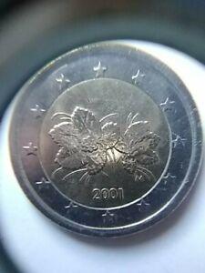 Pièce de 2 euros Finlande fautée