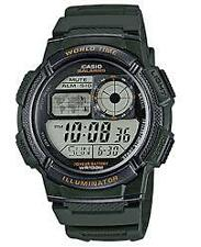 CASIO AE-1000W-3AVDF GREEN WATCH FOR MEN - COD + FREE SHIPPING