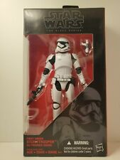"Hasbro Star Wars Black Series 6"" Action Figure - First Order StormTrooper #04"