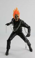 "1/6th Ghost Rider Cool Black Full Sets Clothing Suits Fit F 12"" Action Figures"