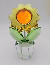 Swarovski Happy Flower - Sunflower LARGE Size 835636 Very Rare
