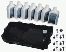 BMW F07 F10 F06 F12 F01 X4 X5 X6 Auto Trans Oil Pan+Filter Kit+7-Liter ZF Fluid