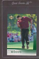 2001 Upper Deck UD Golf TIGER WOODS ROOKIE RC #1,