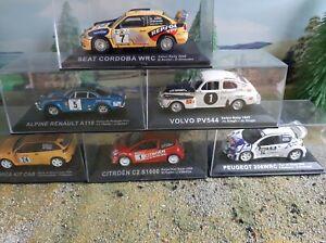 DeAgostini Rally Car Collection Multi-Listing 44-50